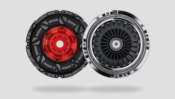 I-Shift dual clutch-girkassen