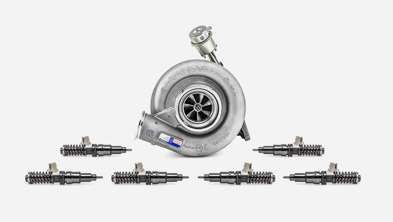 Volvo Trucks' ekstra motoroverhalingssett