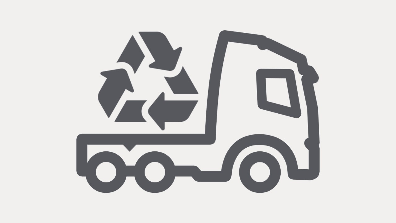 Icon Recycling truck
