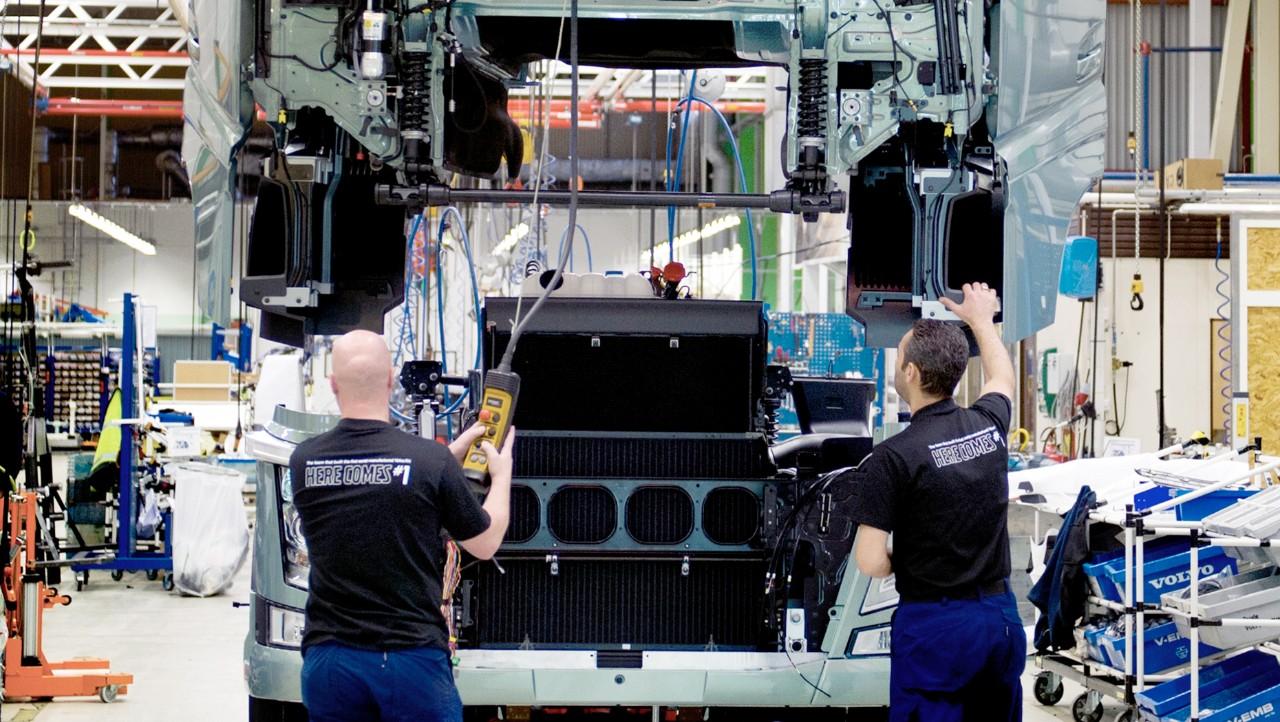 Volvo Trucks workshop