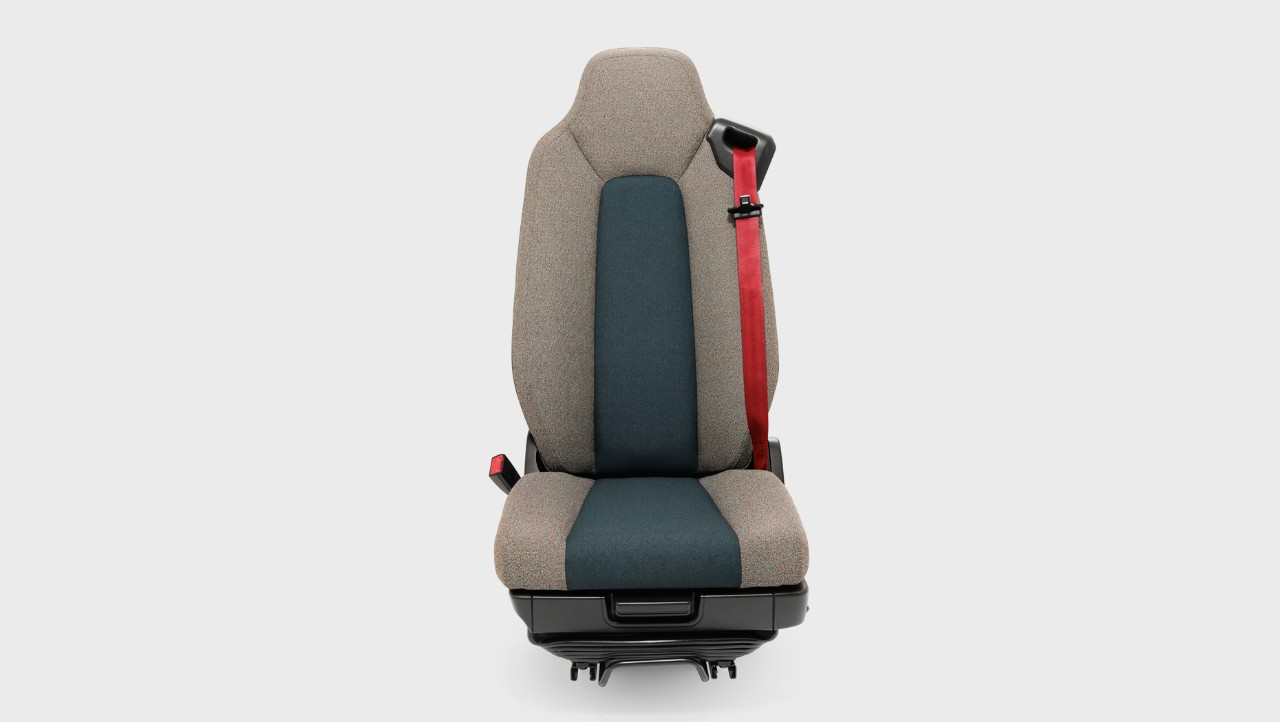 Volvo FL safety cab drivers seat studio