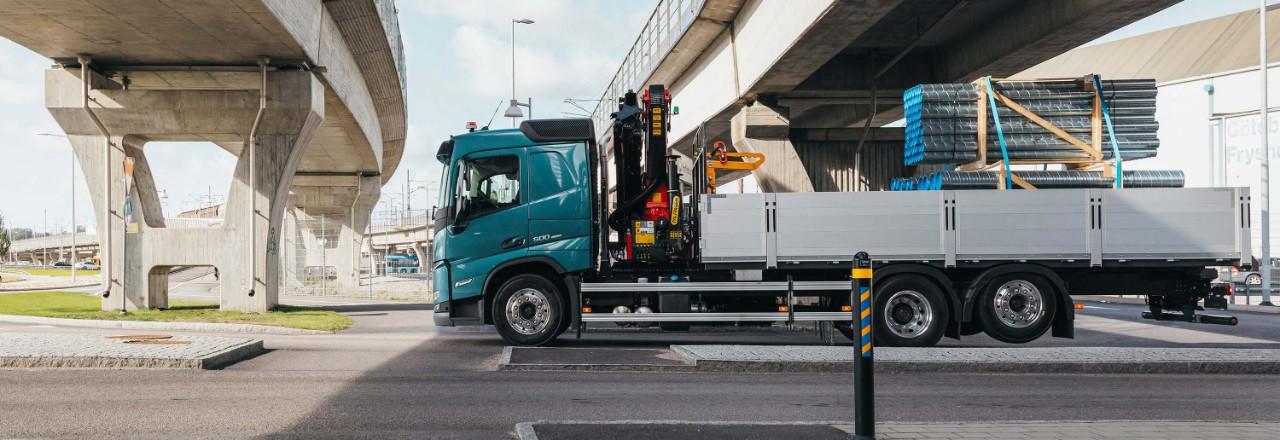 Få din Volvo FM med et bredt spekter av akselkonfigurasjoner, akselavstander og chassishøyder i henhold til dine behov.
